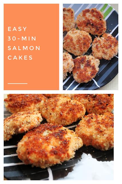 Easy 30-minute salmon cakes recipe