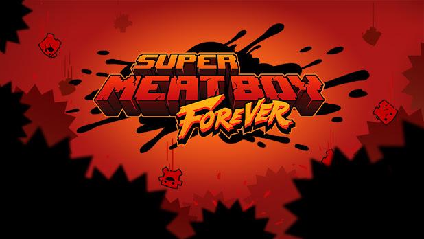 Super Meat Boy Forever Review header