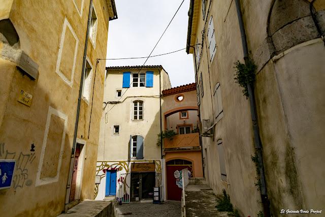 Plan de Brie, Anduze, rue Perol - Francia, por El Guisante Verde Project