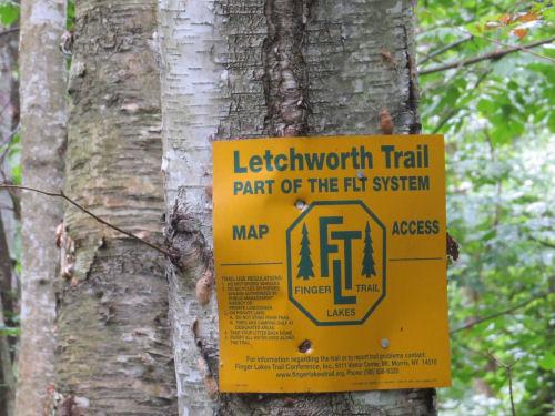 Letchworth Trail sign