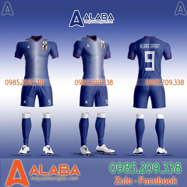 Áo Nhật xanh