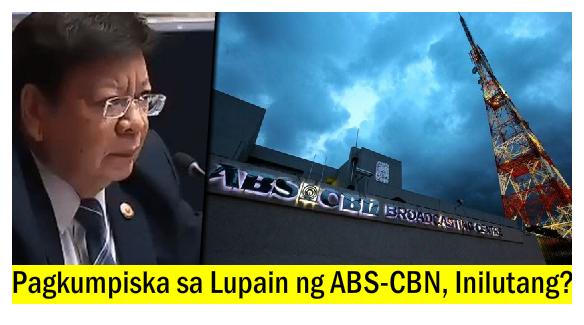 Rep. Marcoleta, Naghain ng Resolusyon para Imbestigahan ang Land Title ng ABS-CBN Headquarters!