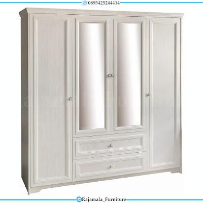 Jual Dipan Minimalis Terbaru Putih Duco Glossy Mebel Jepara RM-0295