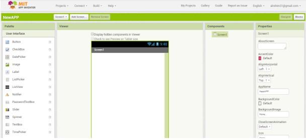 Membuat Aplikasi Android Menggunakan App Inventor