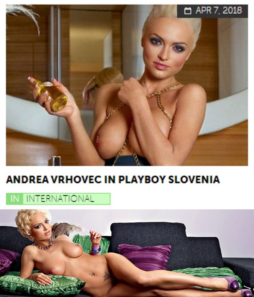 Playboy PlayboyPlus2018-04-07 Andrea Vrhovec in Playboy Slovenia