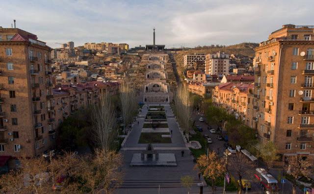 Ereván ingresó a las 10 mejores ciudades de la CEI para viajes virtuales