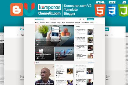 [Gratis] Download Template Mirip Kumparan