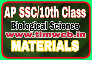 AP SSC/10th Class Biological Science materials