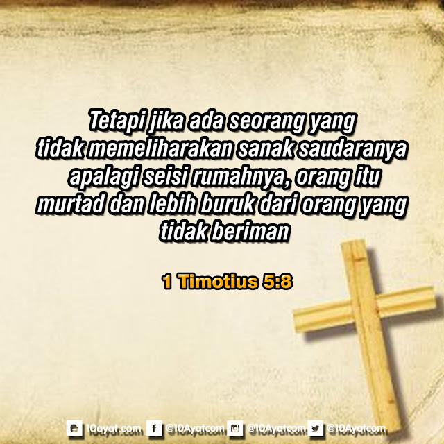 1 Timotius 5:8