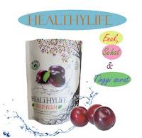 Healthylife DRIED PLUM, plum diet isi 15, dried plum kemasan baru