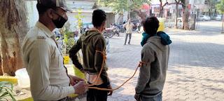 थाना माधव नगर उज्जैन में दिनांक 11/11/ 2020 को हुई चोरी का खुलासा