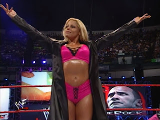 WWE / WWF - Fully Loaded 2000 - Trish Stratus teamed with T&A to face Lita and The Hardy Boyz