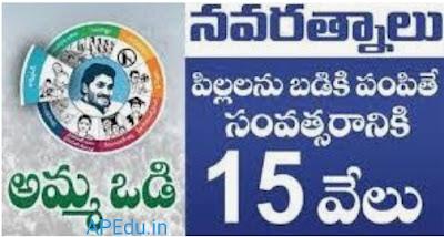 Jagananna Ammavodi  pending list available