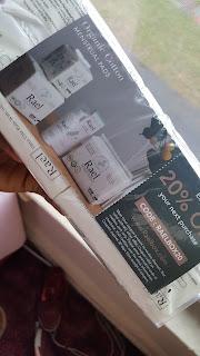 rael disposable pads