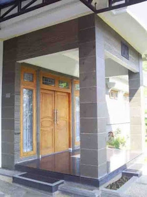 Tiang Teras Minimalis Batu Alam untuk Mempercantik Rumah