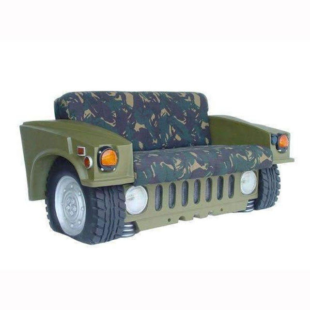 Humvee Car Sofa