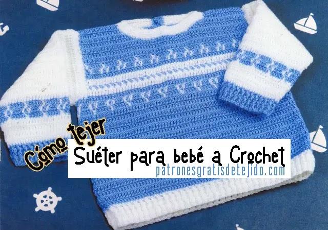 patrones-sueter-bebe-crochet