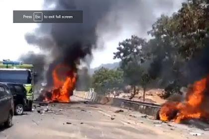 Kecelakaan beruntun terjadi di ruas Tol Cipularang arah Dawuan