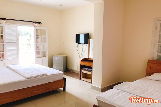 Phòng ngủ Sen villa - Pasteur villa đà lạt