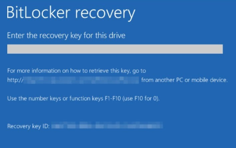 bitlocker never set up