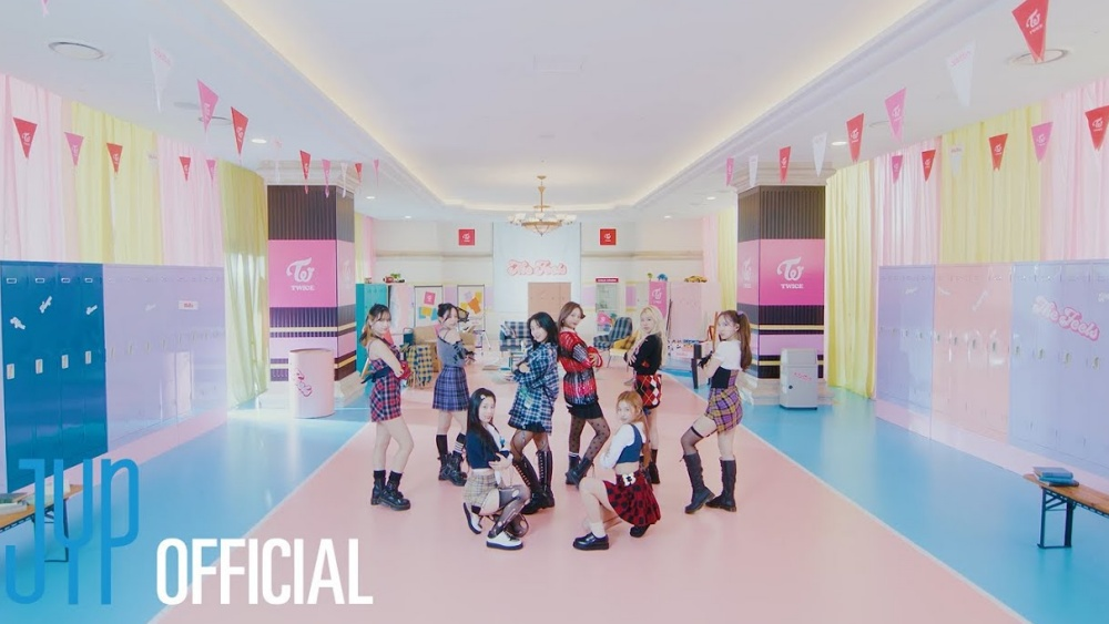 TWICE Debuts on The Billboard Hot 100 With The Song 'The Feels'