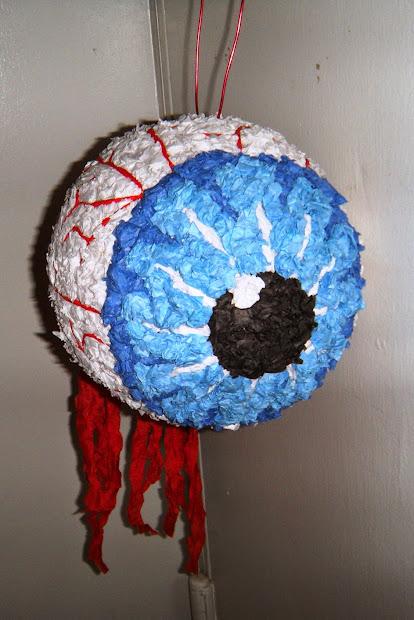 Enticing Oasis Of Creativity Eyeball Halloween Pinata