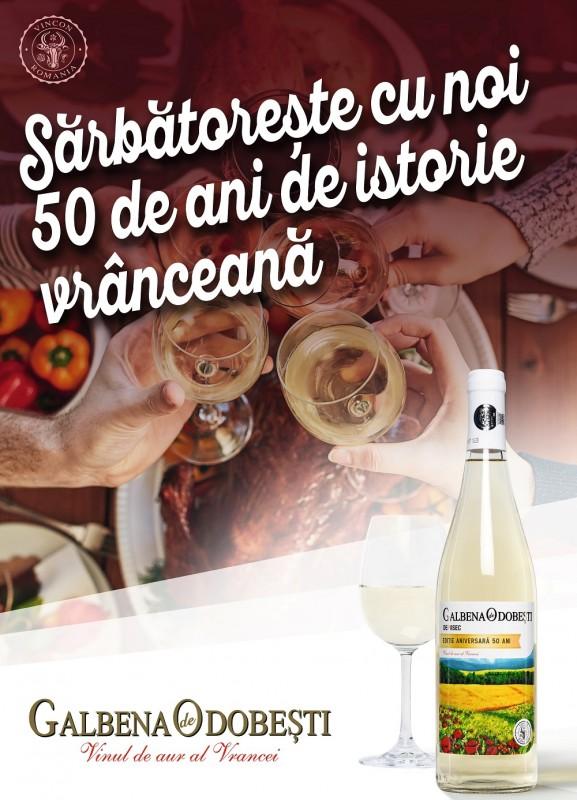 Vincon România sărbătorește alături de tine 50 de ani de istorie și tradiție. Povestea merge mai departe!