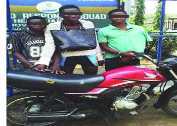 robbers arrested ajegunle lagos