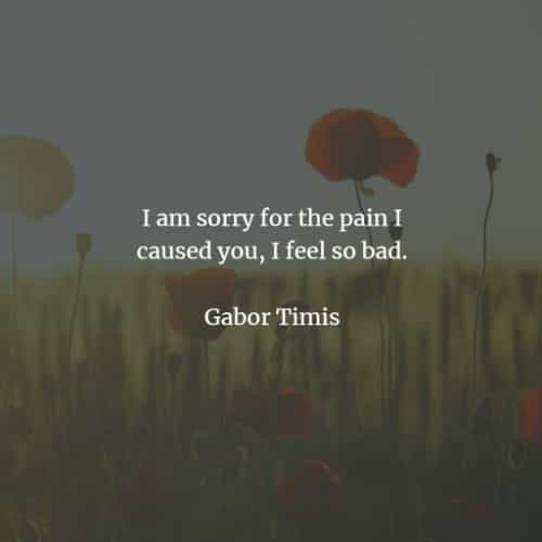 I'm sorry quotes that'll inspire you to make an apology