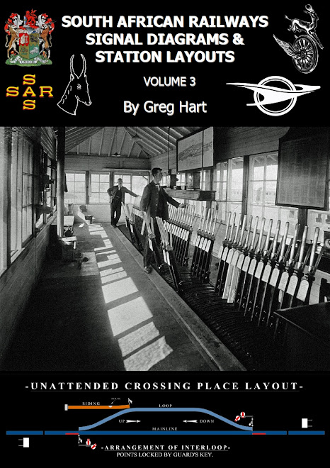 SOUTH AFRICAN RAILWAYS SIGNAL DIAGRAMS & STATION LAYOUTS (VOLUME 3)