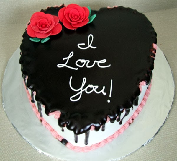 Lovely Valentine's Day Cake