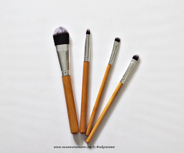 Detail Bulu Kabuki Brush