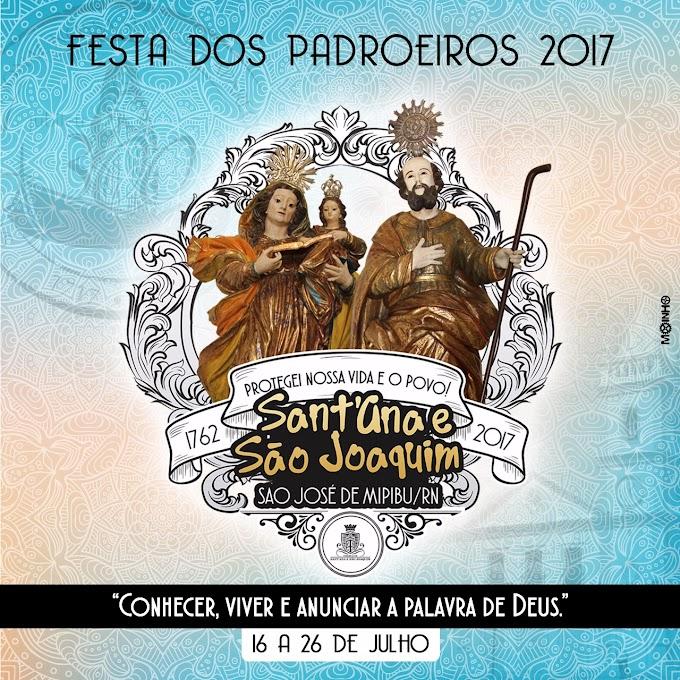 PROGRAMAÇÃO DA FESTA DE SANT'ANA E SÃO JOAQUIM 2017