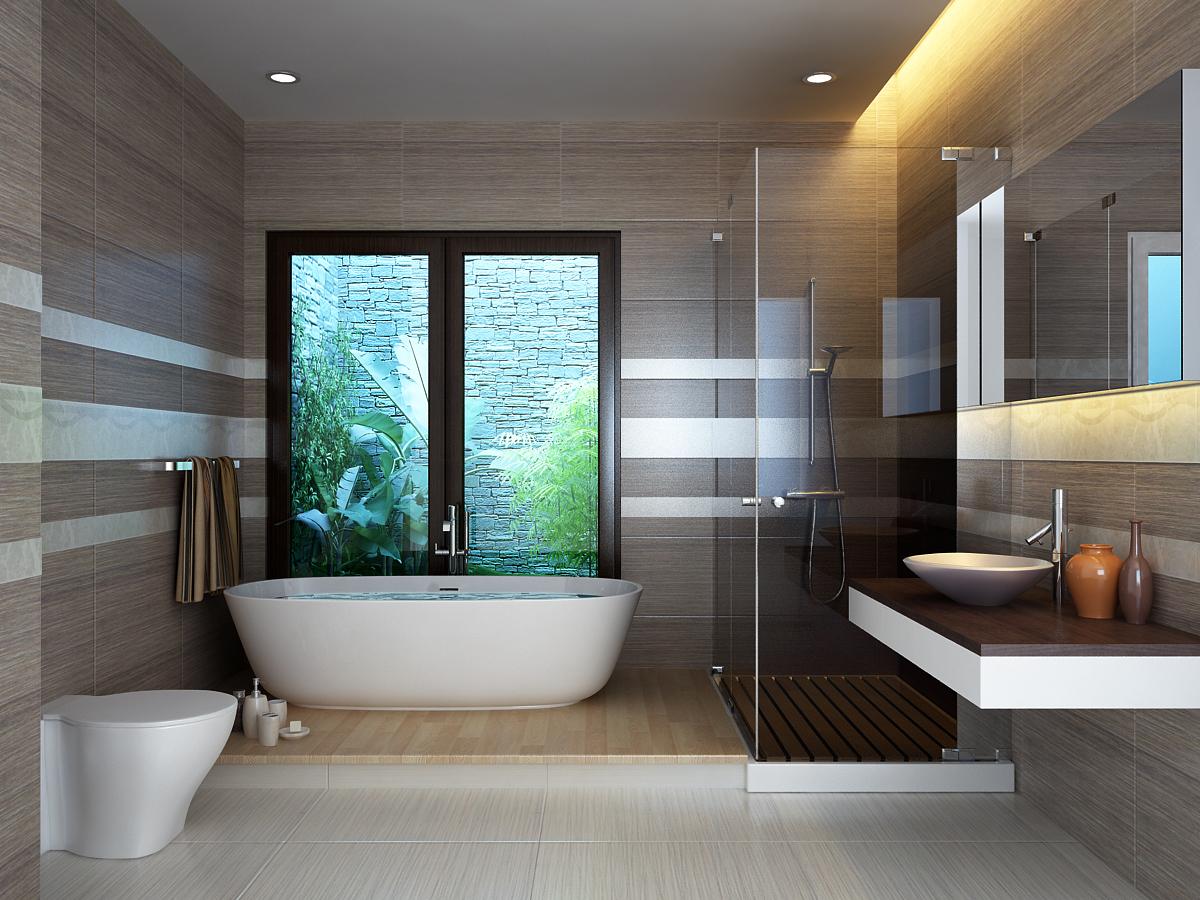 Kết quả hình ảnh cho phòng tắm đẹp sang trọng