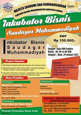 Inkubator Bisnis Saudagar Muhammadiyah Jember