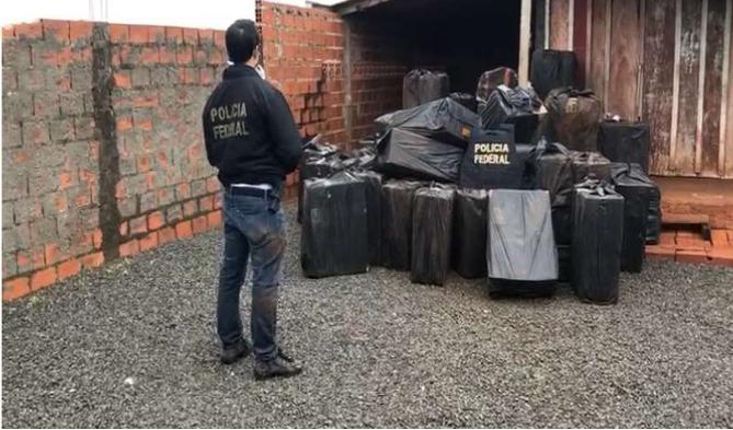 PF prende criminosos que atuavam no tráfico internacional de drogas e contrabando no Paraná