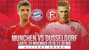 مشاهدة مباراة بايرن ميونيخ وفورتونا دوسلدورف بث مباشر