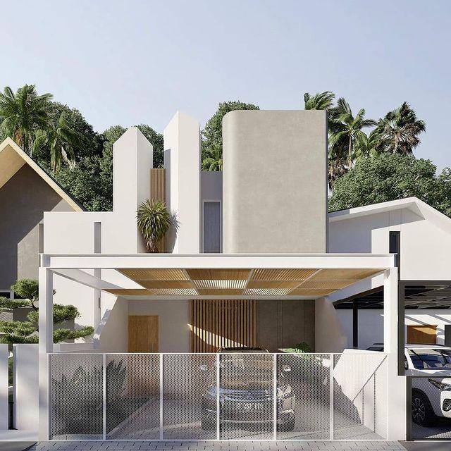 contoh desain rumah minimalis sederhana