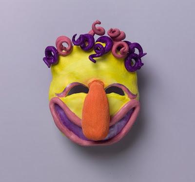 Actividades máscaras de estilo nativo americano.