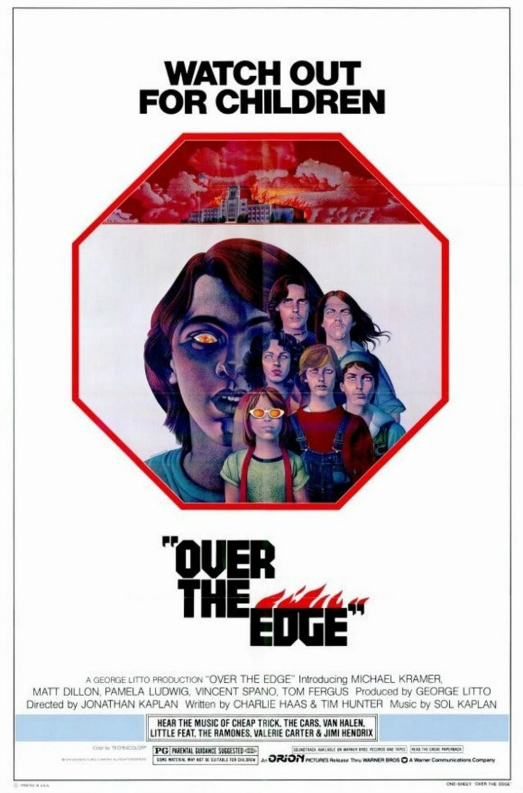 A Vintage Nerd, Movie Madness Monday, Classic Film Recommendations,  Over the Edge