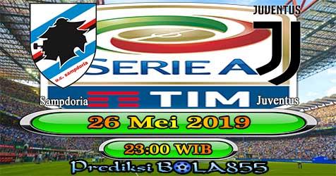 Prediksi Bola855 Sampdoria vs Juventus 26 Mei 2019