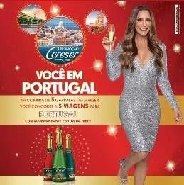 Promoção Cereser Show Ivete Sangalo em Portugal - Concorra 5 Viagens