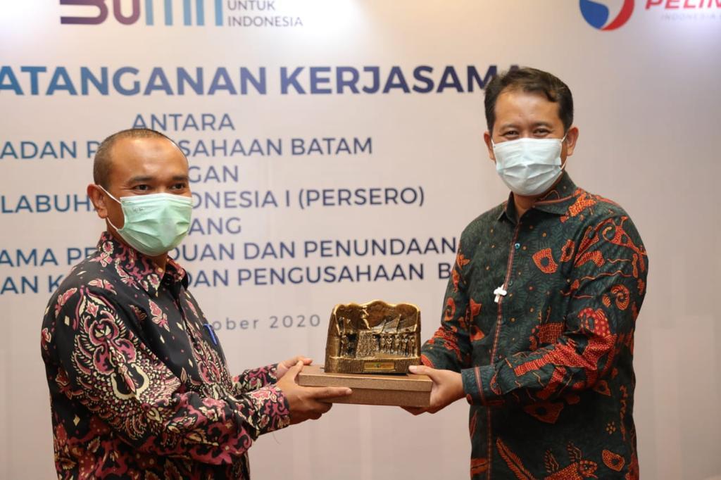 BP Batam dan PT Pelindo I (Persero) Tandatangani Perjanjian Kerja Sama Operasional Jasa Pemanduan dan Penundaan Kapal