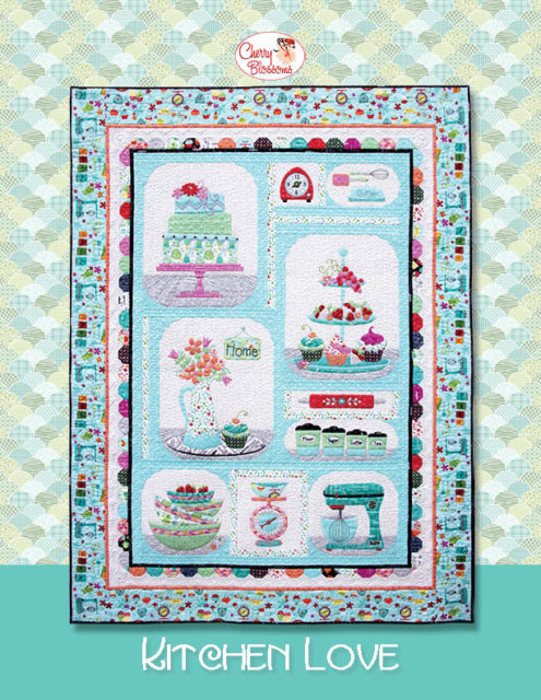 Kitchen Quilting Ideas : Sew in Love {with Fabric}: Cherry Guidry s Kitchen Love