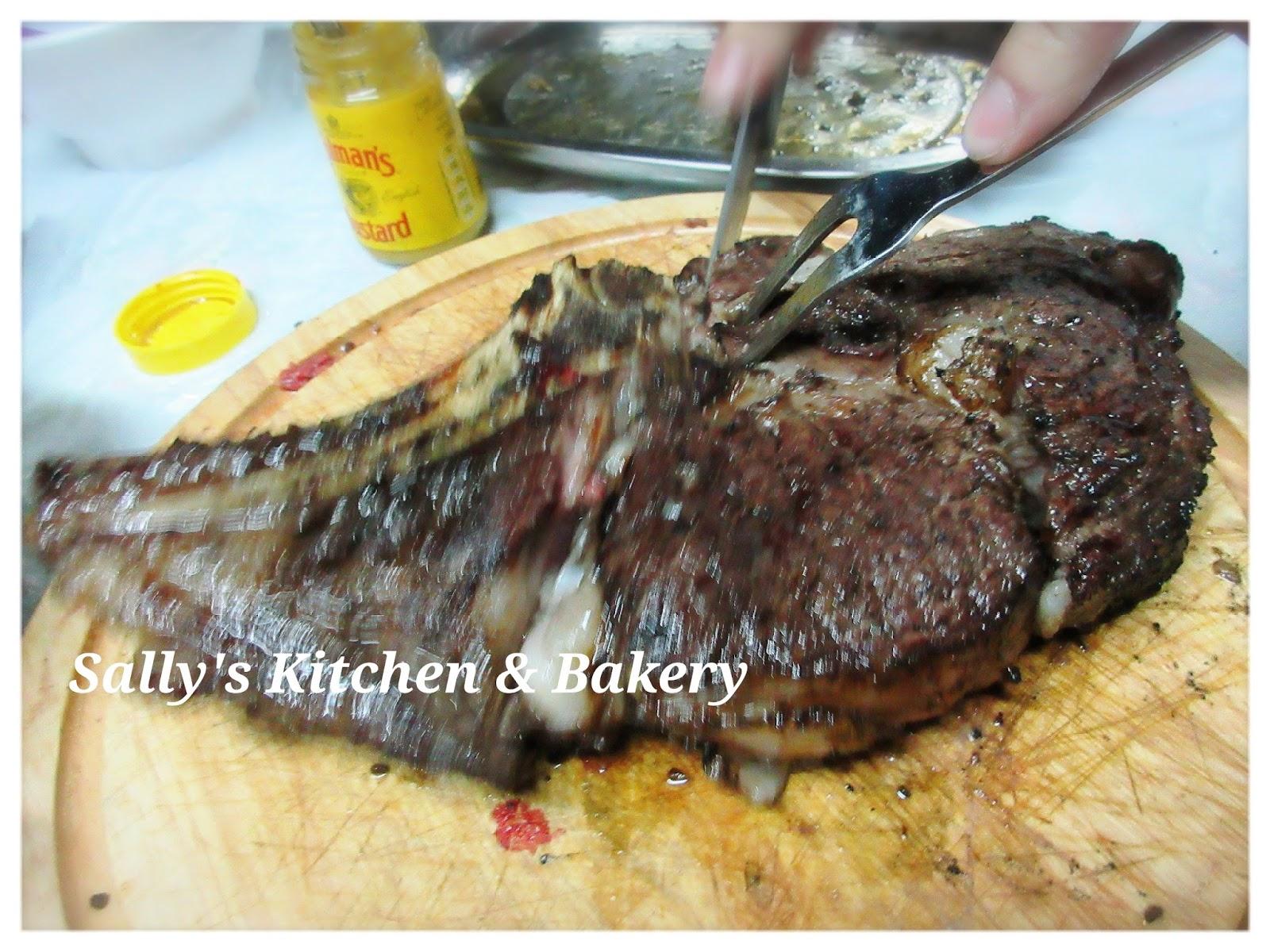 Sally's Kitchen & Bakery: [低溫慢煮] 斧頭牛扒 (附食譜) - Sous Vide 及 BBQ派對