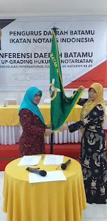 Rini Nawangsari Terpilih Menjadi Ketua Pengda BATAMU Dan Arneli Darwita Terpilih Menjadi Ketua DKD Periode 2019-2022.