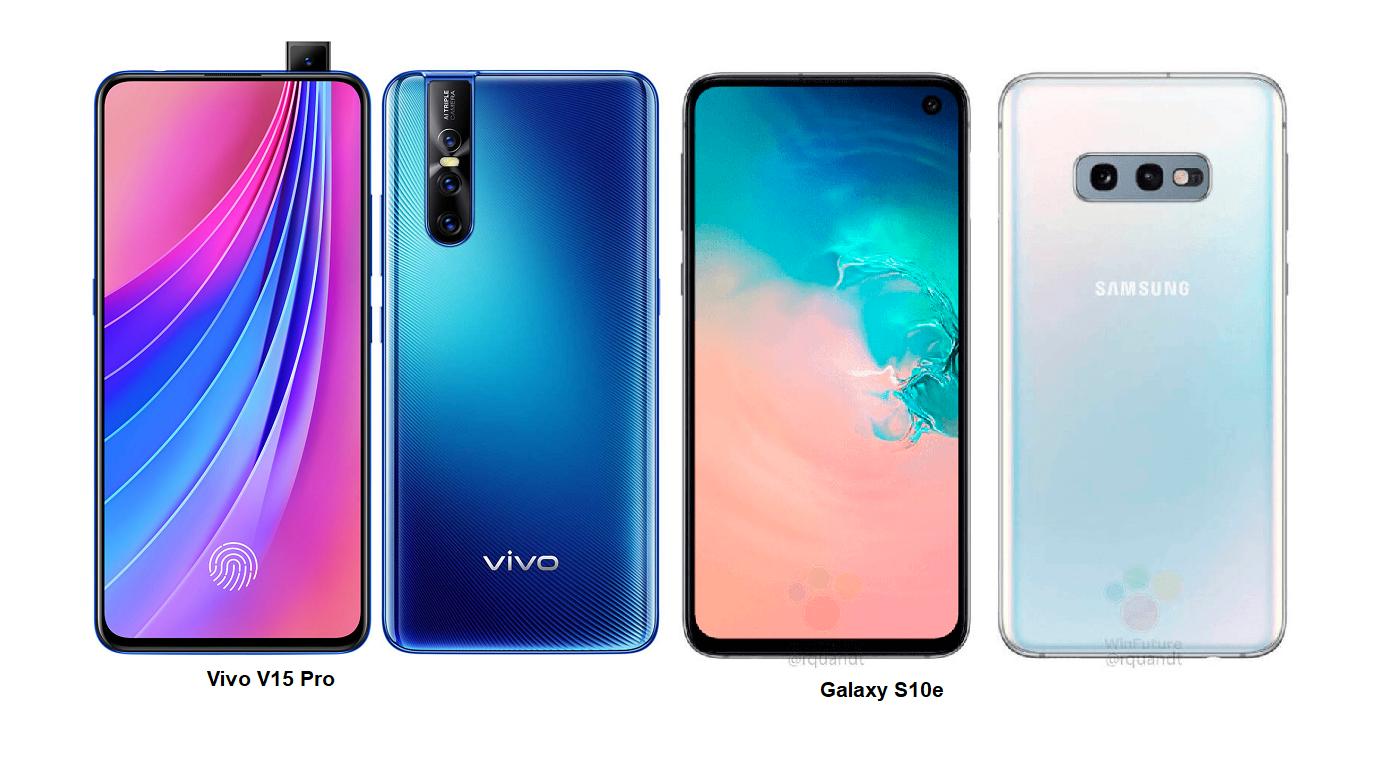 Samsung Galaxy S10e Vs Vivo V15 Pro Specs Comparisons