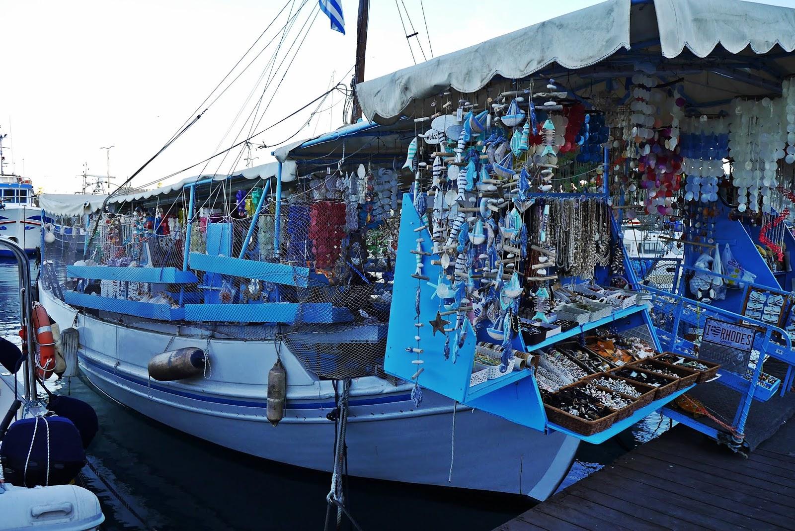 port rodos rhodes grecja  karyn blog modowy blogerka modowa podróż poślubna