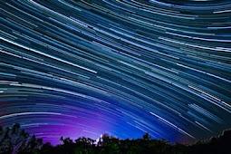 Cara Foto Star Trails Atau Foto Bintang Berjalan Hanya Dengan HP