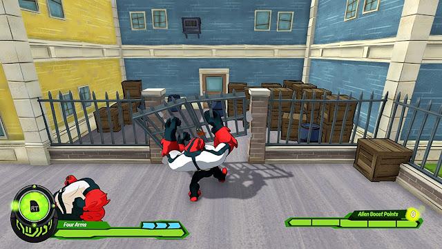 Se filtra juego de Ben 10 para PlayStation 4, Xbox One y Nintendo Switch